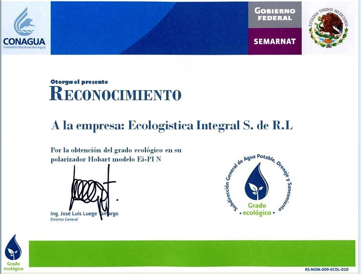 Certificaciones Agua sin Sarro 2